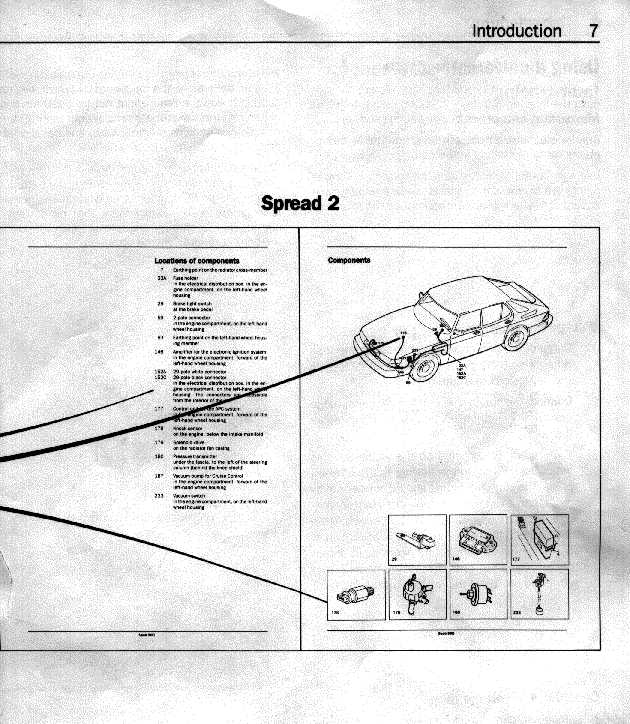 electrical 900 89 90 rh townsendimports com 2002 Saab 9 3 SE Air Box Diagram Saab 9 3 Parts Diagram