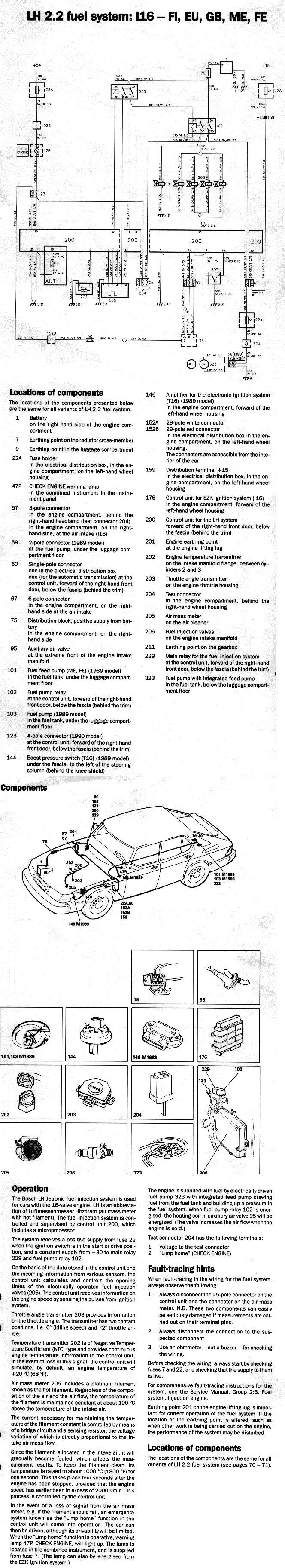 on 89 Saab 900 Wiring Diagram