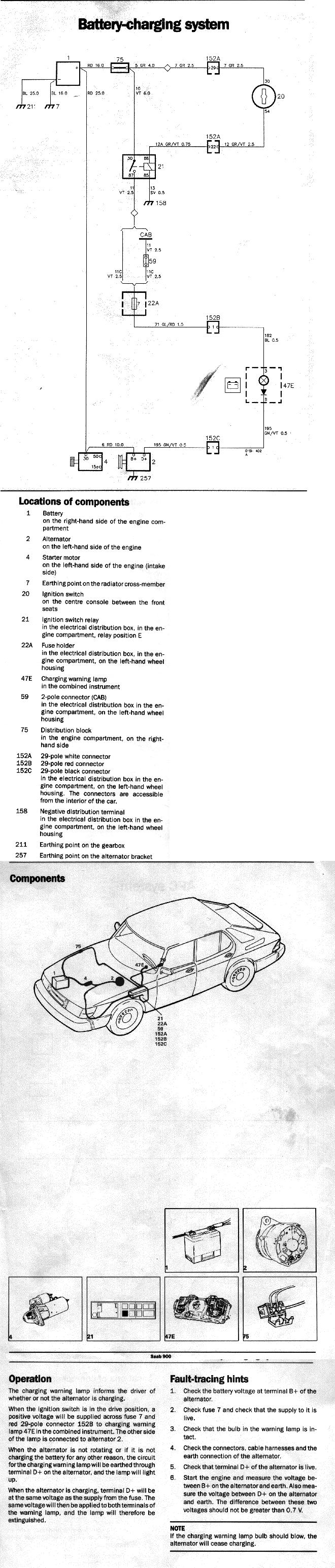 Electrical 900 89 90 Apc Tachometer Wiring Diagram 88 Ezk Ignition System With 1990 Model